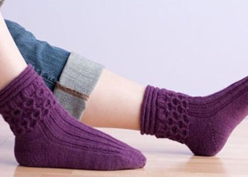 Knit Gifts: Honeycomb Socks