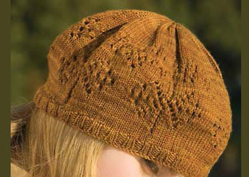 Lace Hat Pattern: Lace Fountain Hat by Katie Himmelberg