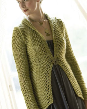 From this cardigan to shawl, scarf, hat, and other lace patterns, this eBook has a little bit of everything.