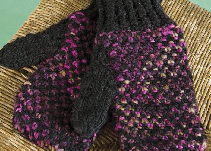 Knitting Daily Patterns : 5 Free Mitten Knitting Patterns + Thumb Gusset Tutorial - Knitting Daily