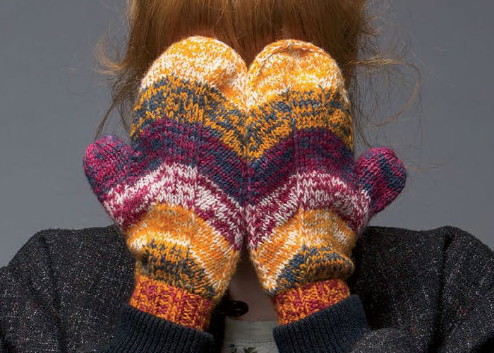 Knitting Increases For Thumb Gusset : Free mitten knitting patterns thumb gusset tutorial
