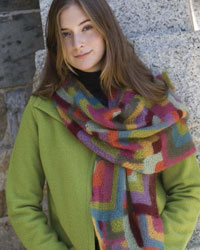 Knitting Scarves #4: The Modern Quilt Wrap