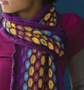 Create stunning accessories with this collection of knitted scarf patterns.