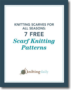 Download Your 7 Free Scarf Knitting Patterns eBook!