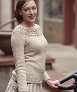 Knit Sweater Patterns: Freyja Pullover