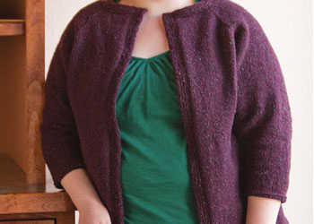The Tweed Cardigan by Rebecca L. Daniels