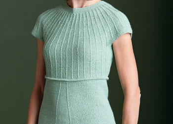 Knit Sweater Patterns: Jess's Gansey