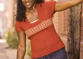 Knit Sweater Patterns: Tomato