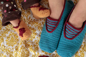 Sock and Slipper Patterns