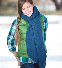 Beginner Knitting Projects: Big Thompson Scarf