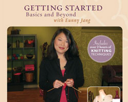 Knitting Lessons for Beginners DVD: Getting Started Knitting
