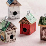 How to Make Mixed-Media House Crafts