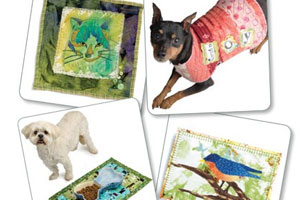 Fabric Art/Quilting Ideas for Animals