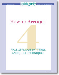 Don't forget to download your free guide to how to applique.