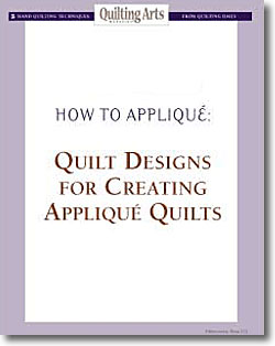 Free Quilt Applique eBook Cover