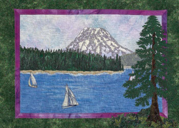 Landscape Quilts Expand Your Horizons, Landscape Techniques by Joyce R. Becker