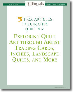 Download your 5 free designs for art quilts.