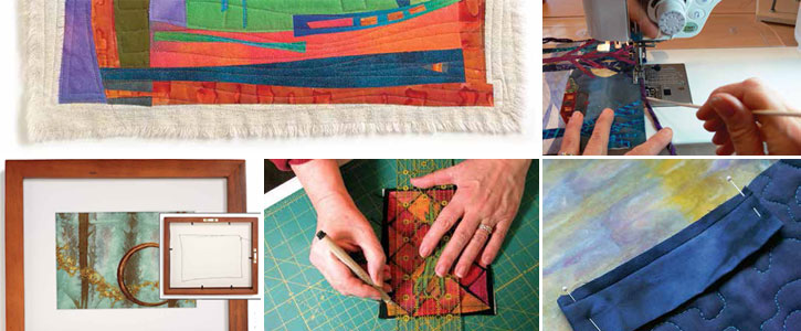 Learn each of these quilt binding techniuqes + get finishing tips all with this download.