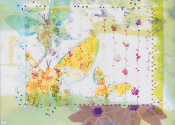 Digital Collages for Quilts: Using Digital Images in Quilted Collages by Margaret Applin