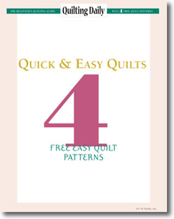 Download your free easy quilt patterns.