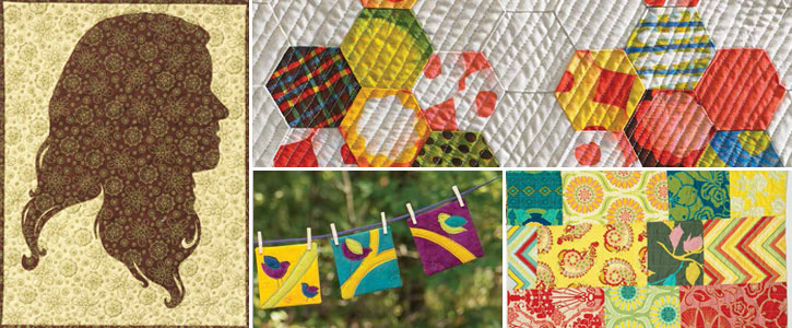 Get all four of these simple quilt patterns today!