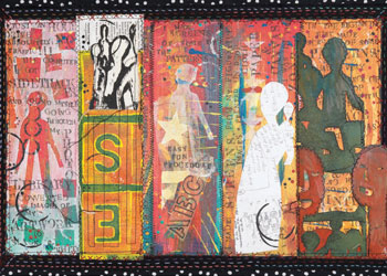 Fabric Print and Painting: Creating Mixed-Media Quilts, Working in a Series