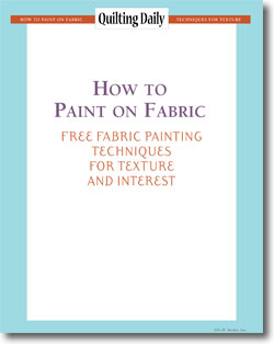 Download your free eBook of fabric painting techniques