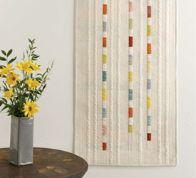 Fabric Wall Art: The Color Swatch Wall Hanging