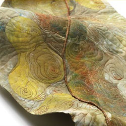 3D Fabric and Fiber Art Quilts: Three-Dimensional Fiber Art