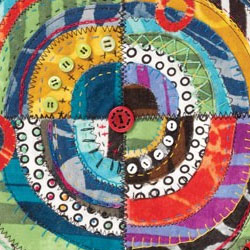Contemporary Quilting with Applique Workshop: Layered and Fused Applique Quilts