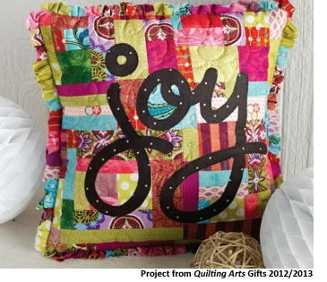 Find easy Christmas gifts to make and handmade gift ideas in Quilting Arts Gifts magazine.