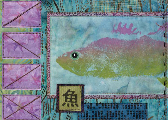 Quilting Lessons in Fun - Take 2: Fishy Quilt Challenge by Jane Dávila and Elin Waterston