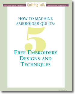 Download your free eBook of machine embroidery designs and techniques.