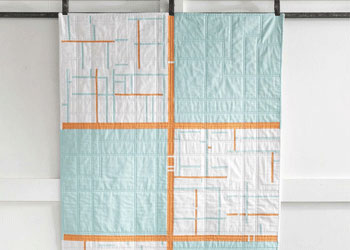 Modern Blocks Design: Fresh Cut Quilt by Jacquie Gering and Katie Pedersen