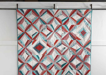 Modern Quilt Blocks Pattern: Mod Pinwheel Quilt by Jacquie Gering and Katie Pedersen
