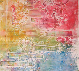 Collograph Printing Tutorial: Collagraphs: Monoprinting with Texture Plates