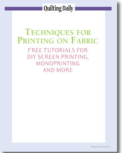 Don't forget! Download your 5 free tutorials on printing on fabric.