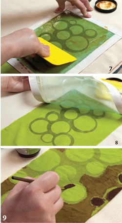 Screen printing on fabric is easy with the tutorials in this free eBook.
