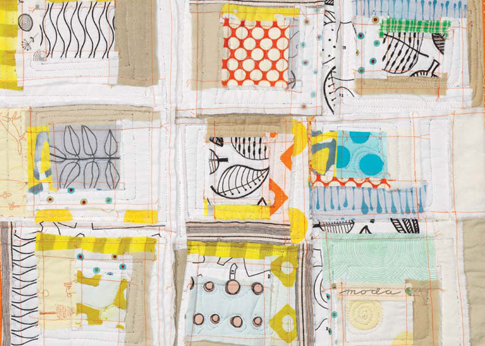 Patchwork Quilting-Piecing: Inside Out Mini Quilt by Malka Dubrawsky