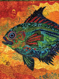Fish Pet Quilt: Freeform Fabric Collage article from Quilting Arts Magazine Apr/May 2010.
