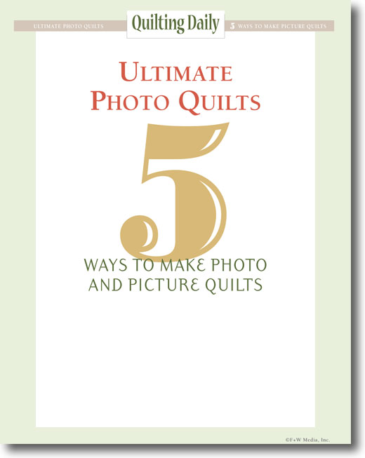 Free eBook on how to make photo quilts.