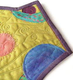 Free Quilt Binding Tutorial: On the Edge by Sarah Ann Smith
