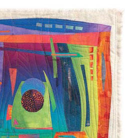 Free Quilt Binding Tutorial: Not Bound by Tradition by Sherrie Spangler