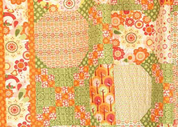 Quilt Square Patterns: Quilted Shower Curtain by Jina Barney (for Riley Blake Designs)