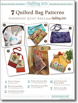 Download your free quilted bag patterns.