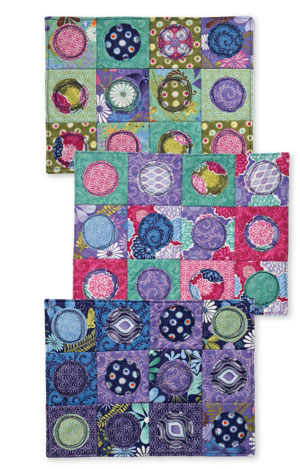 Create these fun placemats and other designs with these free quilting patterns for beginners.