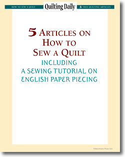Download your free eBook of sewing techniques for quilters.