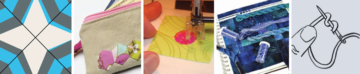Grab all five sewing tutorial and quilting techniques articles.