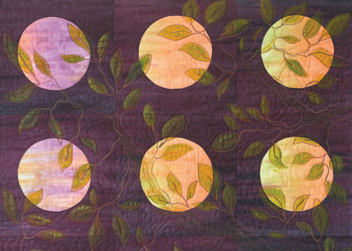 Double Down: Using a Twin Needle in Free-Motion Quilting by Diane Wright