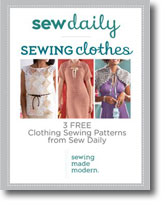 3 Free Clothing Sewing Patterns
